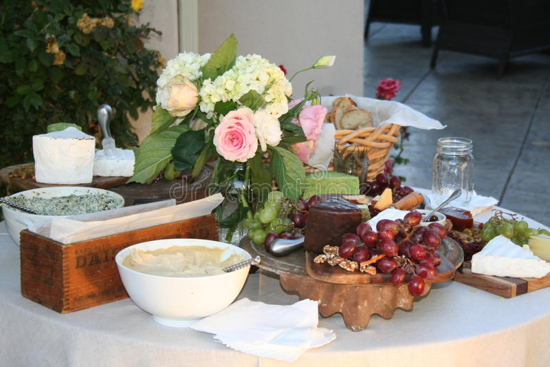 Wedding Foods stock photos