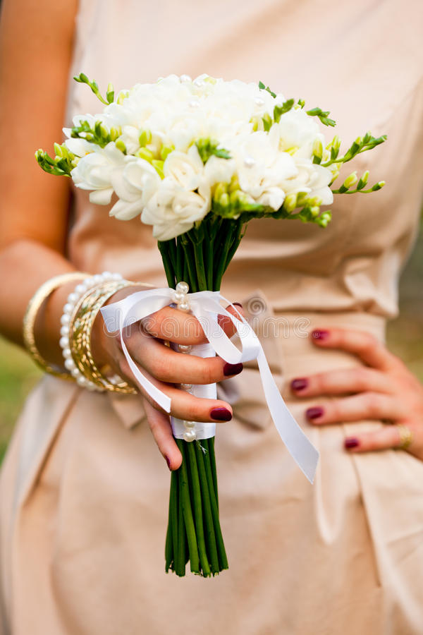 Download Wedding freesias stock photo. Image of leaf, bunch, bouquet - 21068858