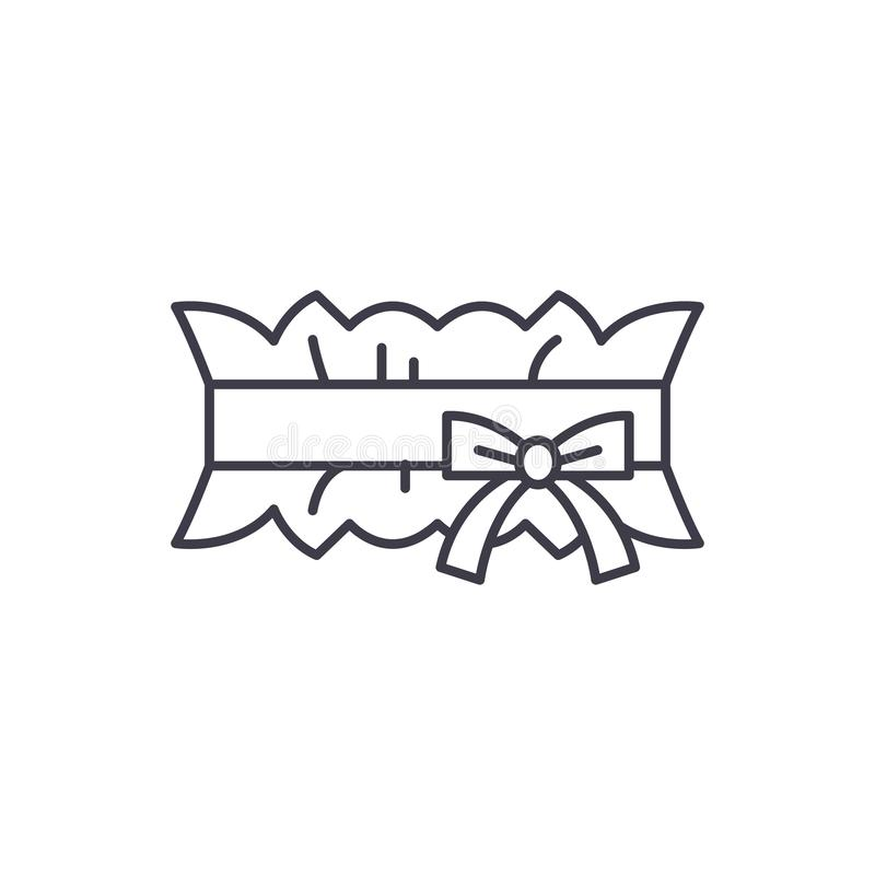 Wedding Garter Symbolism: Priest At Wedding Church Religion Christian Icon, Vector