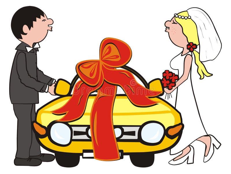 Wedding gift vector illustration