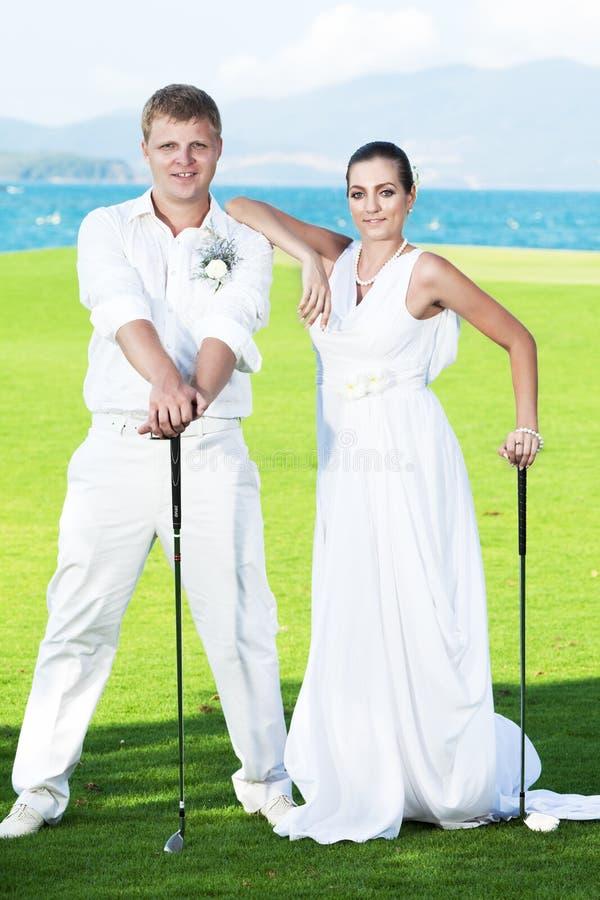 Download Wedding golf stock photo. Image of boyfriend, model, fashion - 19347176