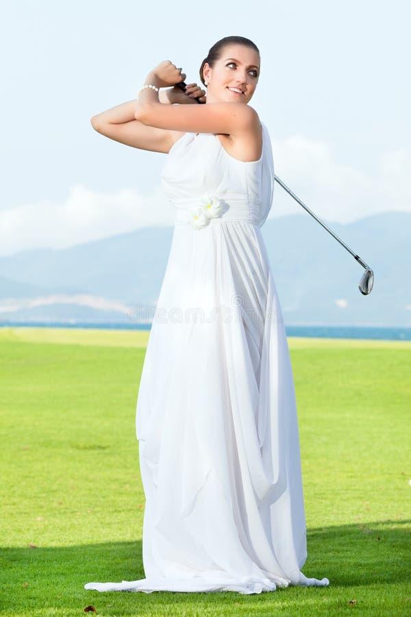 Wedding Golf Stock Photos