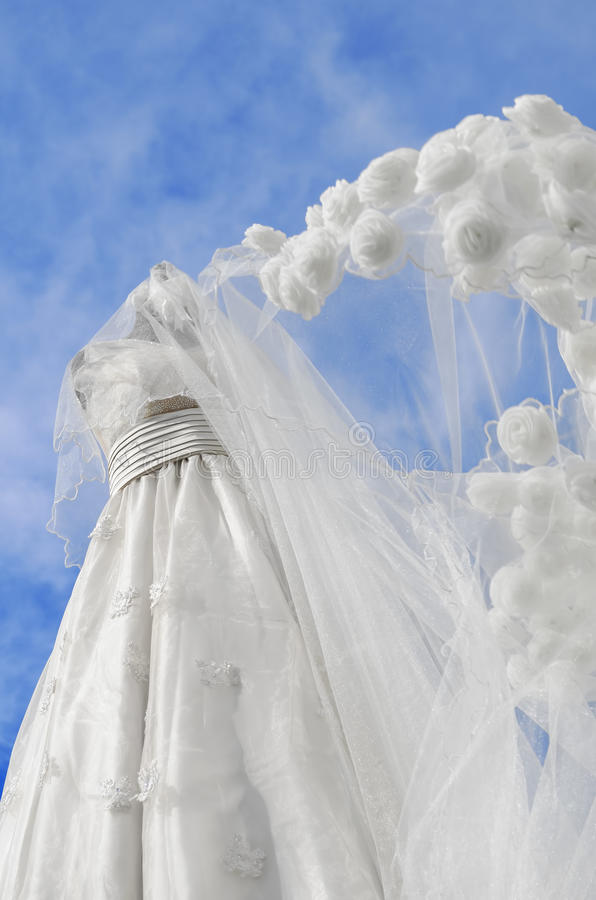 Download Wedding Gown stock image. Image of wedding, formal, bridal - 24551495