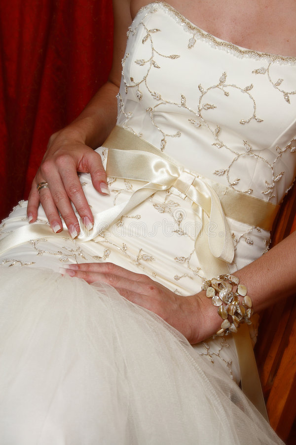 Free Wedding Gown Royalty Free Stock Photography - 4250497