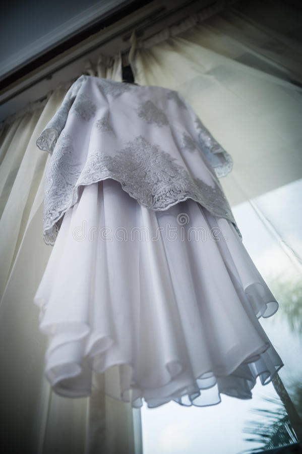 Wedding Gown royalty free stock image