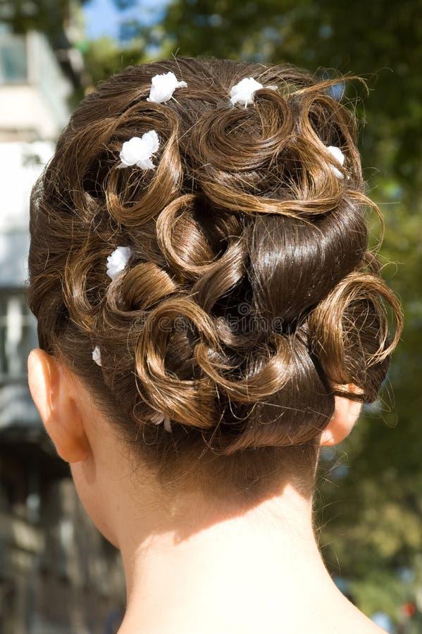 Free Wedding Hair Style Stock Image - 11191311