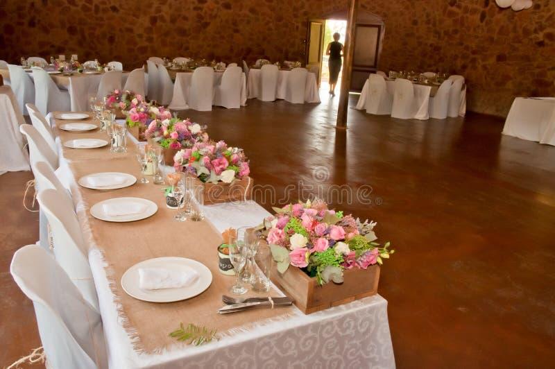 Wedding Hall stock images