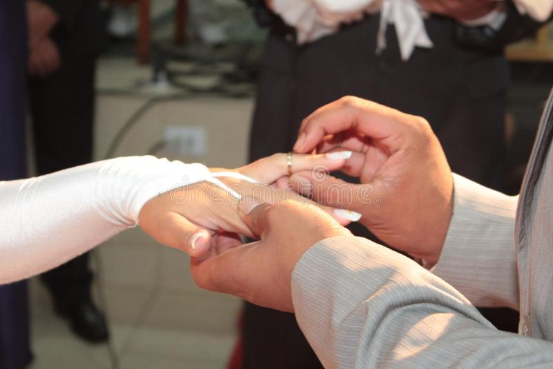 Wedding, Hands and ring. Generic Image of wedding, hands and ring stock photography