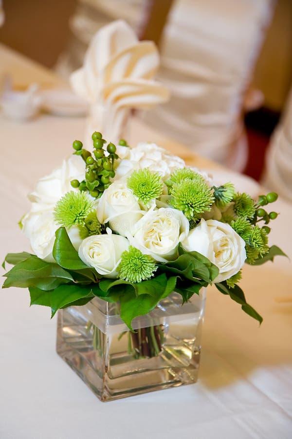 Wedding Head Table Centerpiece Closeup stock photos