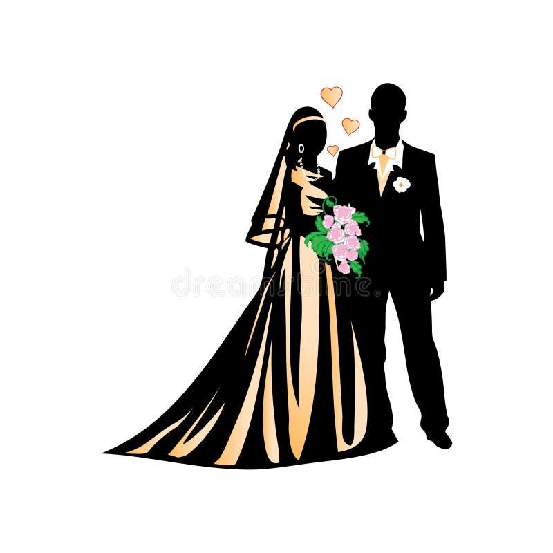 Download Wedding illustration stock vector. Illustration of romance - 7529835