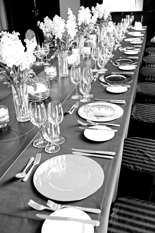 Wedding Innenraum lizenzfreies stockfoto