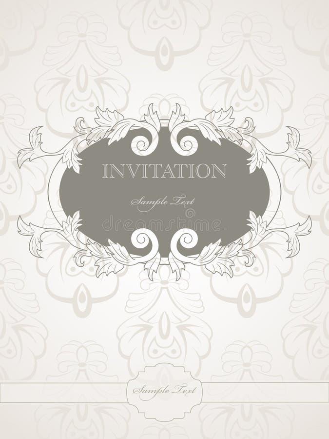 Download Wedding invitation stock vector. Illustration of pattern - 18187248
