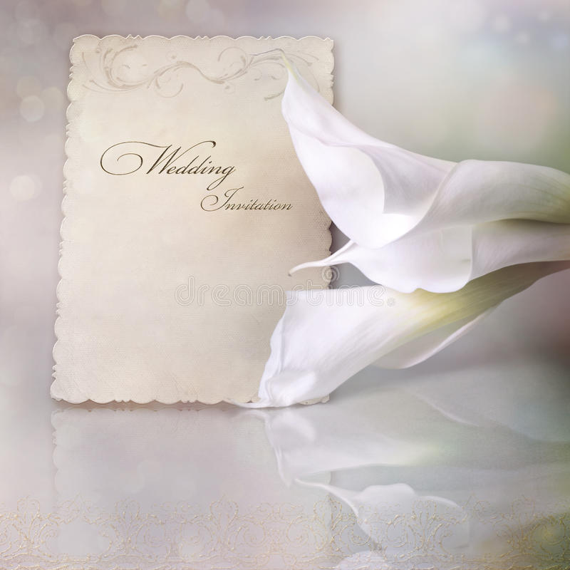 Download Wedding invitation stock image. Image of blossom, dating - 22441139