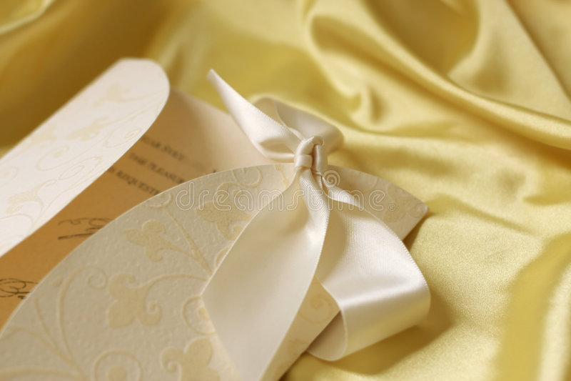 Wedding invitation royalty free stock image