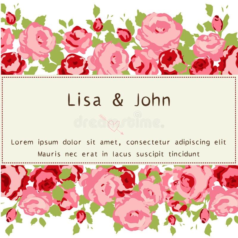 Wedding invitation stock image. Image of message, plant - 41793255