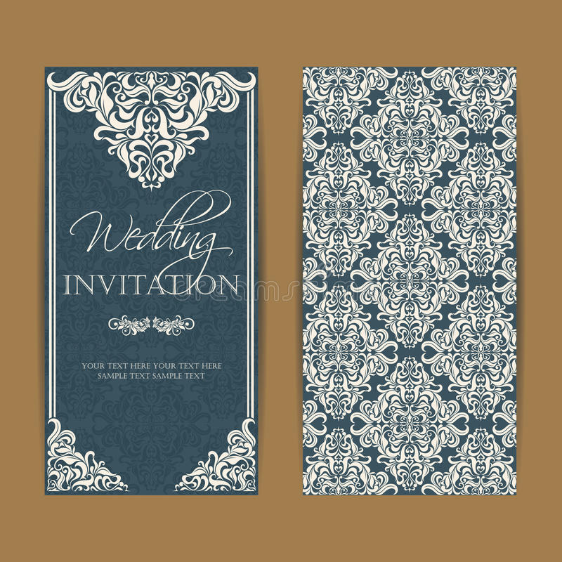 Free Wedding Invitation And Save The Date Cards Stock Photography - 96911822