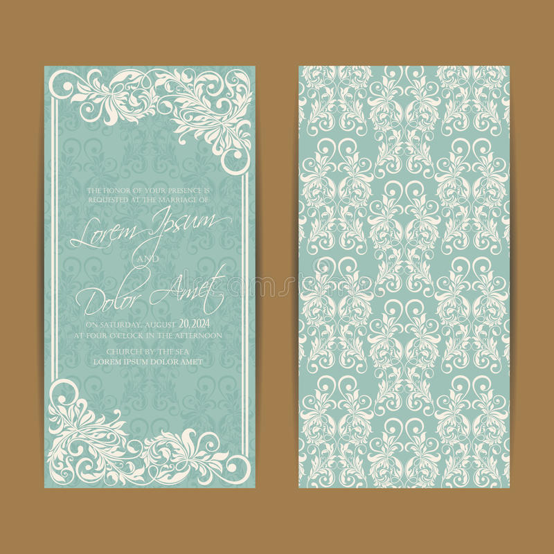 Free Wedding Invitation And Save The Date Cards Stock Images - 97115794