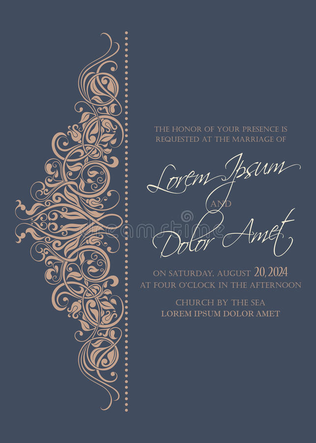 Free Wedding Invitation And Save The Date Cards Royalty Free Stock Images - 99234669