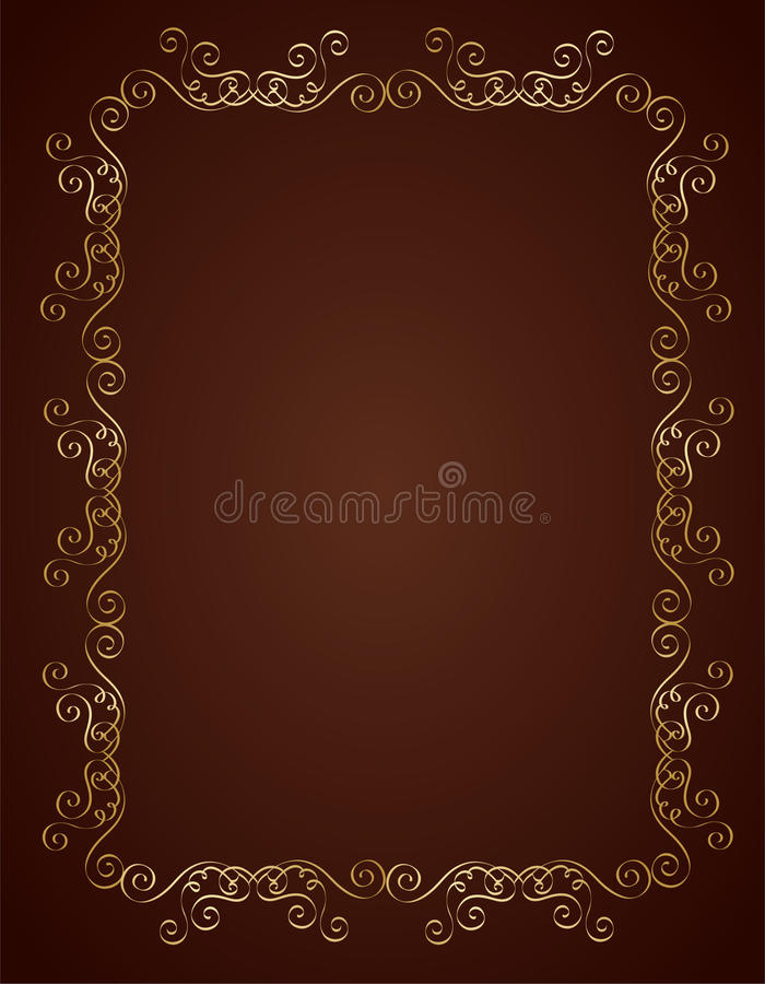 Wedding Invitation Background Stock Vector Illustration
