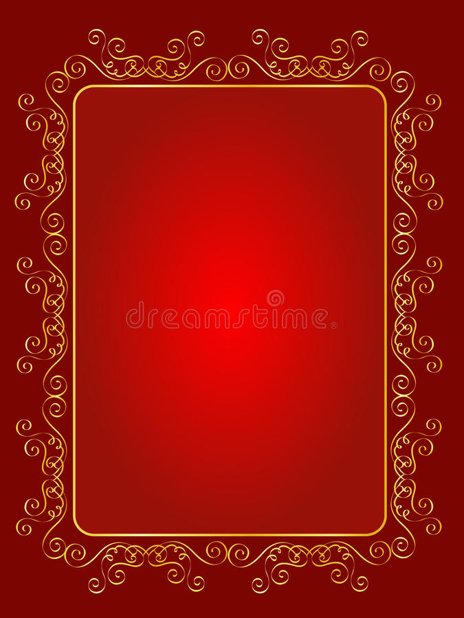 Wedding Invitation Background Royalty Free Stock Photo