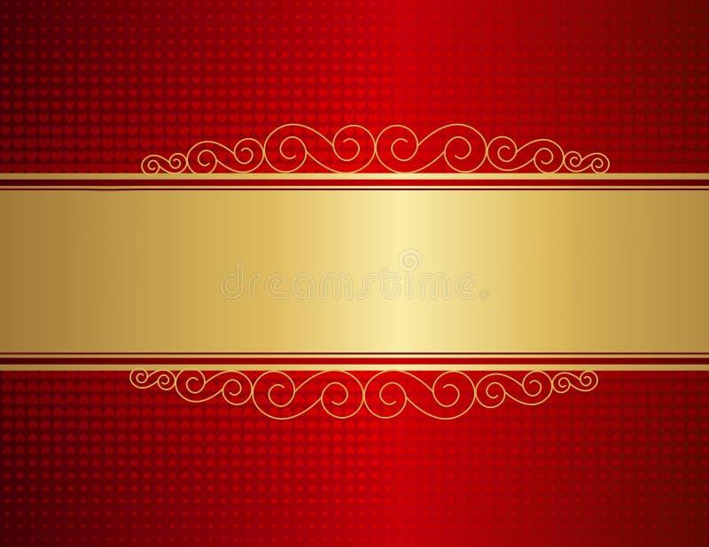 Wedding invitation background vector illustration