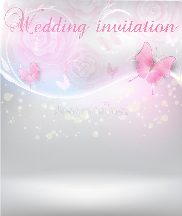 wedding invitation stock vector illustration of backdrop 33005501