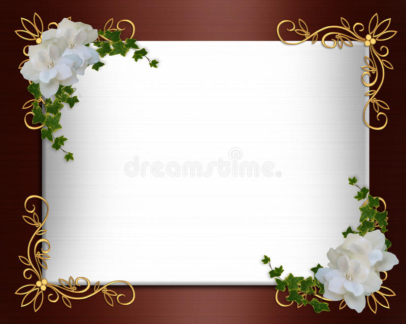 Download Wedding Invitation Border Elegant Stock Illustration    Illustration Of Design, Decorative: 11243863