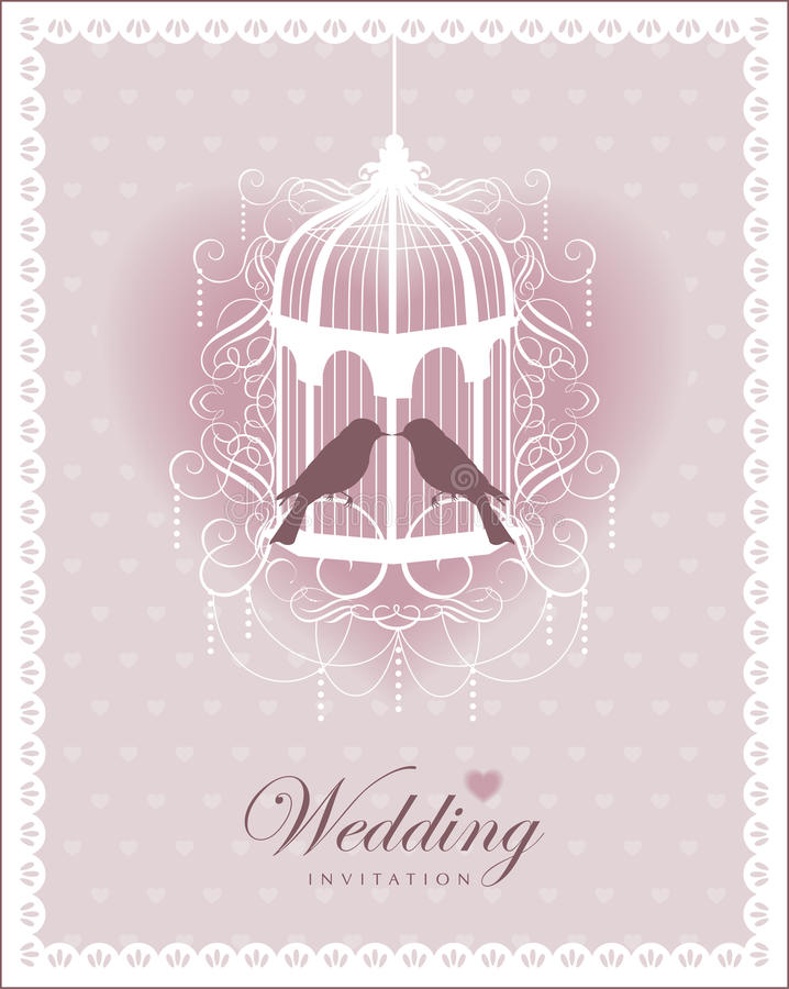Free Wedding Invitation Card Stock Image - 17606111
