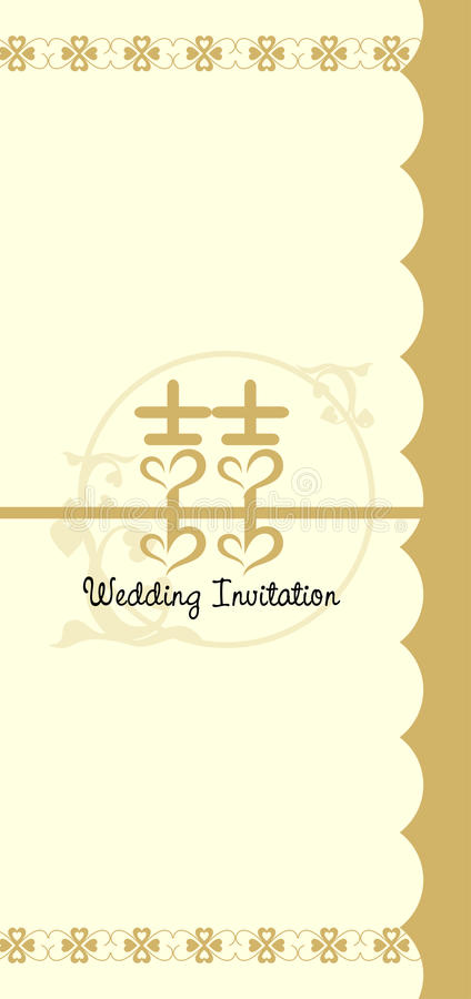 Download Wedding Invitation Card stock vector. Image of happiness - 9885205