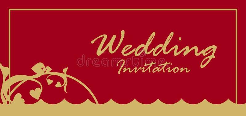 Download Wedding Invitation Card stock vector. Illustration of heart - 9885235