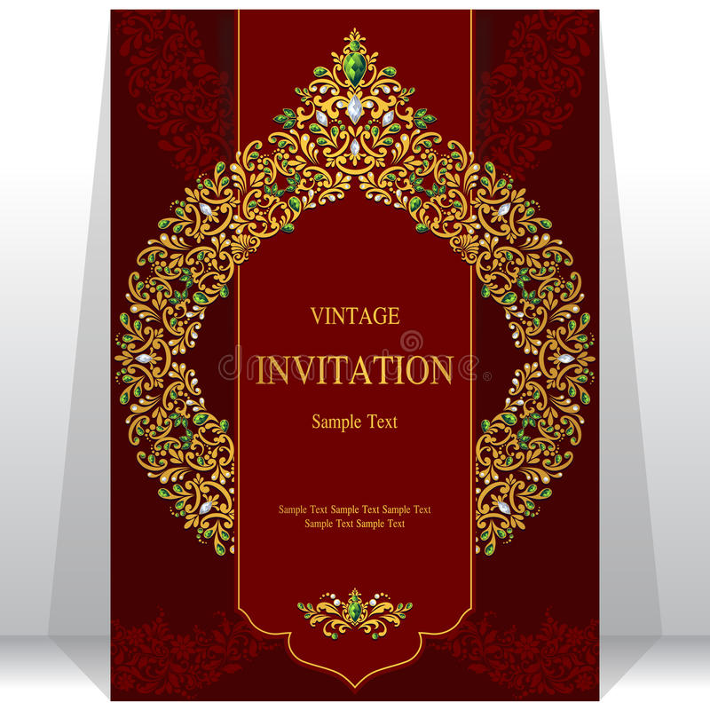 Wedding invitation or card with abstract background stock image download wedding invitation or card with abstract background stock image image of dubai stopboris Images