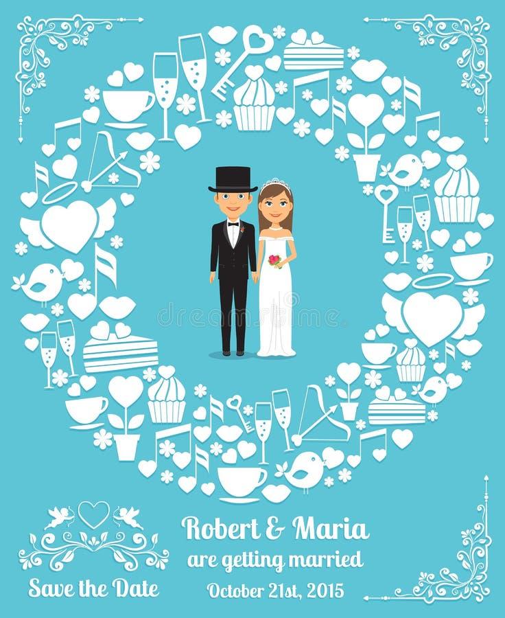 Wedding invitation card stock vector illustration of black 49121211 download wedding invitation card stock vector illustration of black 49121211 stopboris Images