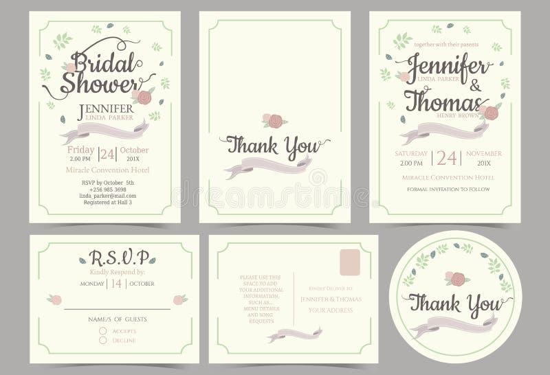 Wedding invitation card minimalist styleflower wreath concept download wedding invitation card minimalist styleflower wreath concept stock vector illustration of stopboris Images