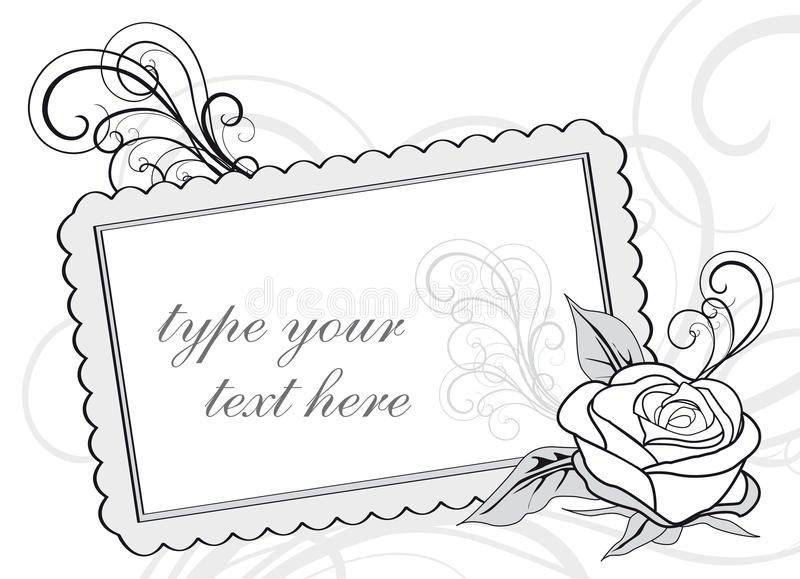 Download Wedding Invitation Design With Copy-space Royalty Free Stock Image - Image: 21160416