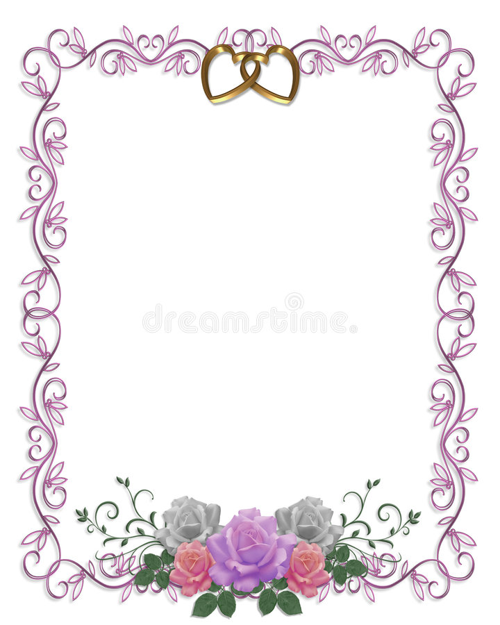 Wedding invitation border design vatozozdevelopment wedding invitation border design stopboris Image collections