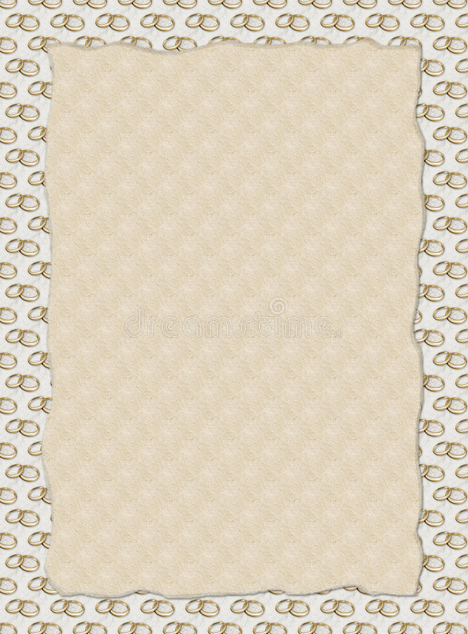 Download Wedding invitation / menu stock illustration. Image of cream - 13234867