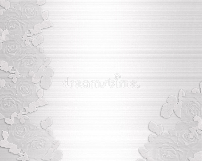 Download Wedding Invitation Satin And Lace Stock Illustration - Image: 6089524