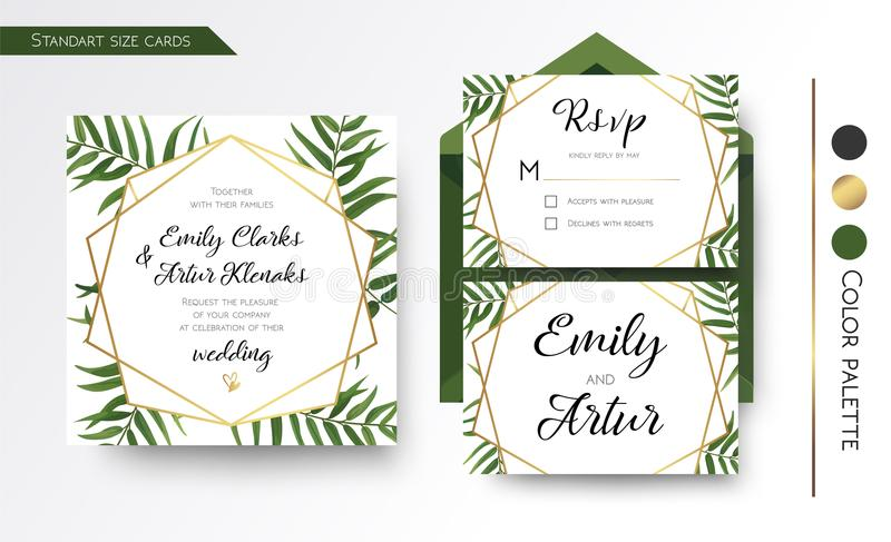 Wedding invitation save the date rsvp invite card design with download wedding invitation save the date rsvp invite card design with stock vector stopboris Images