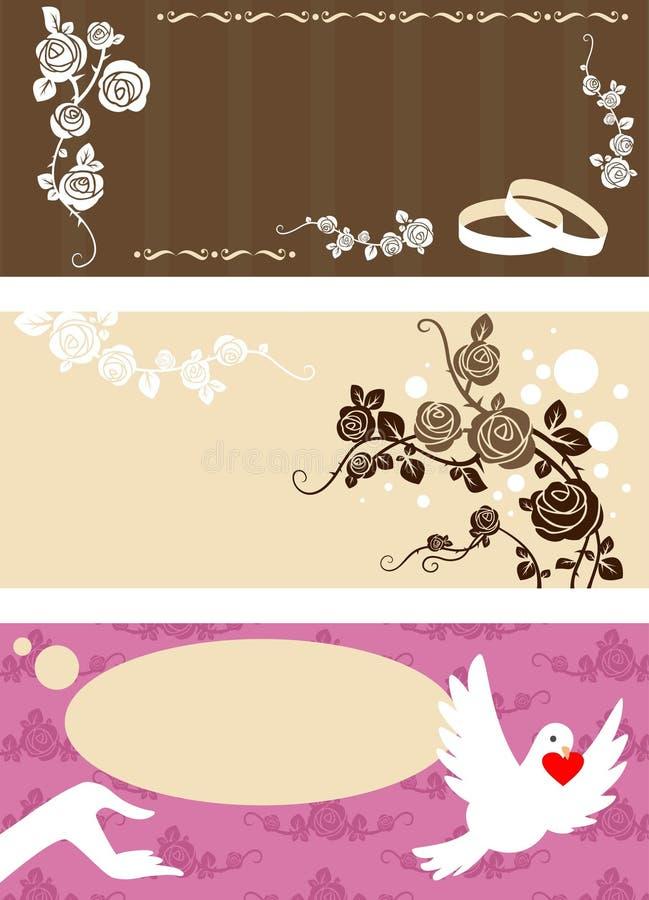 Download Wedding invitation set stock vector. Illustration of holiday - 13668494