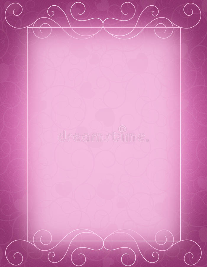 Wedding Invitation Template Royalty Free Stock Photo