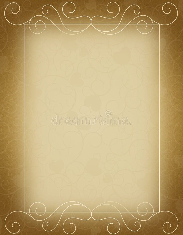 Free Wedding Invitation Template Royalty Free Stock Images - 5569619