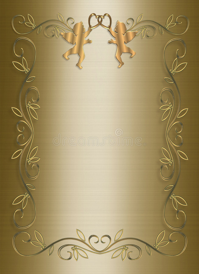 Gold Invitation Template Bules Penantly Co