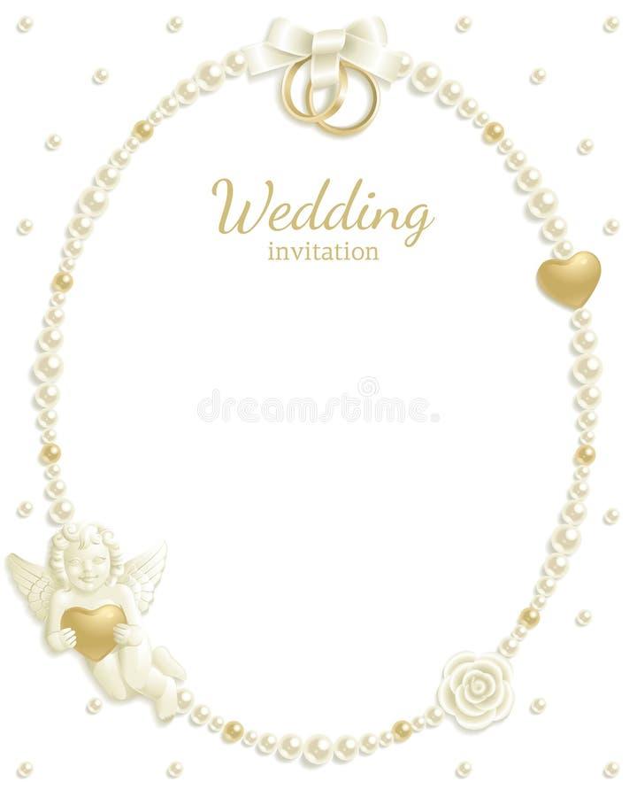 Free Wedding Jewel Frame Royalty Free Stock Photo - 18468575