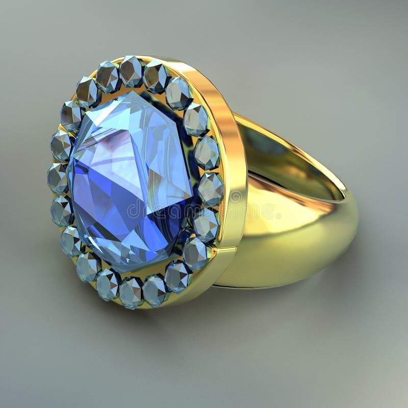 Wedding jeweller ornament royalty free illustration