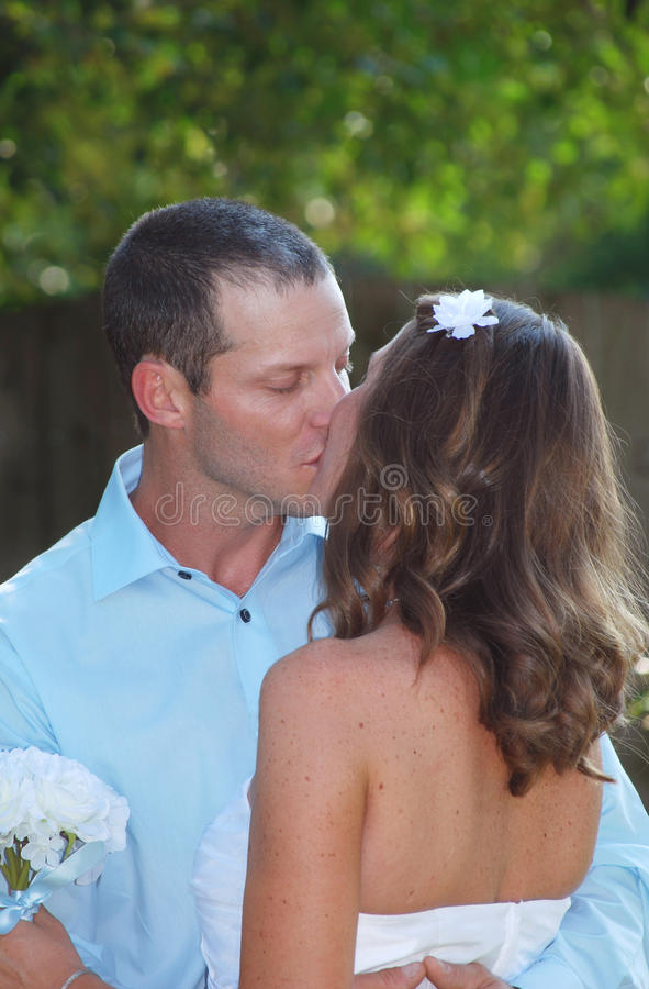 Download Wedding Kiss stock image. Image of married, happy, event - 16412849