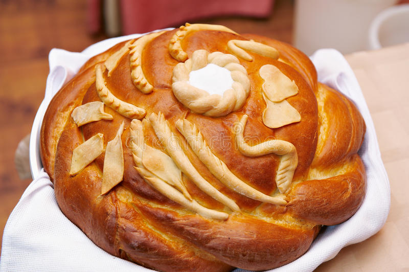 Wedding loaf royalty free stock photography