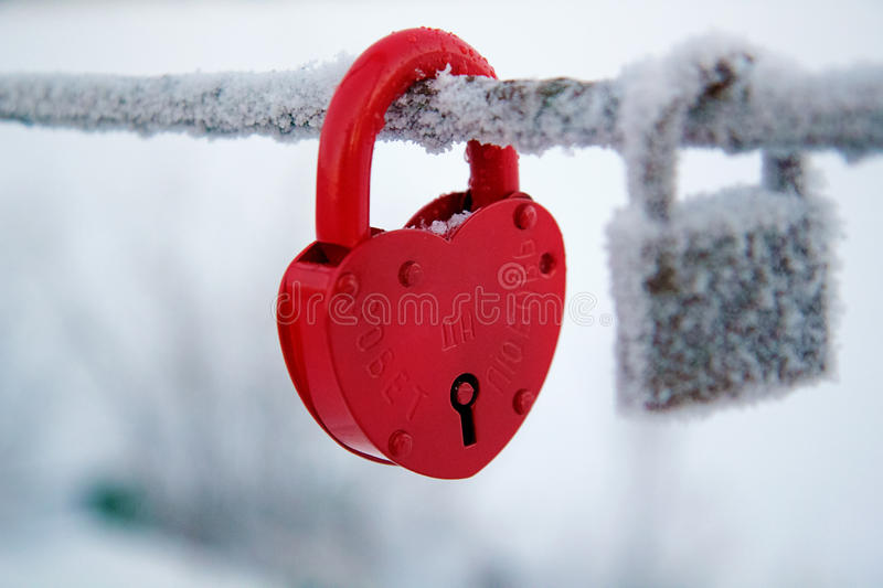 Wedding lock royalty free stock photography