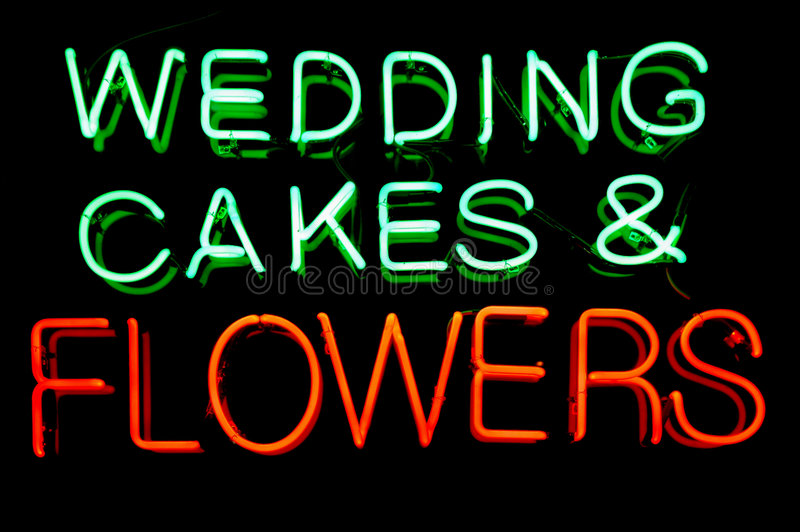 Download Wedding Neon Sign stock image. Image of maid, formal, florist - 956407