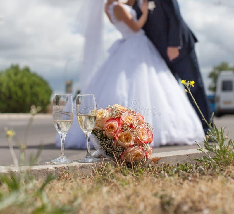 Wedding noch das Leben stockfotografie