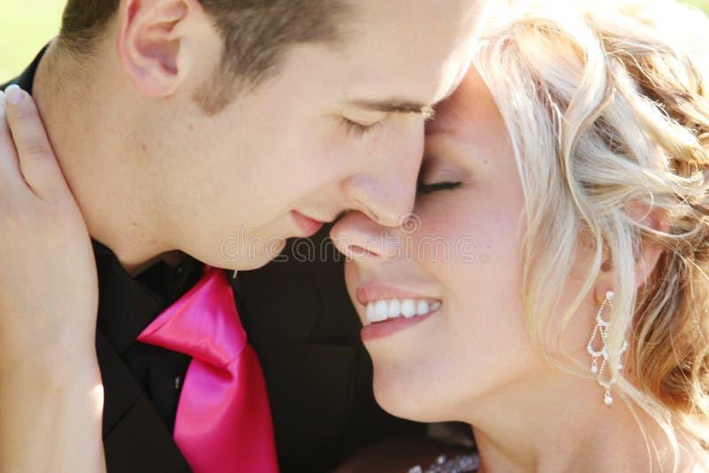 Wedding - noiva e noivo imagem de stock royalty free